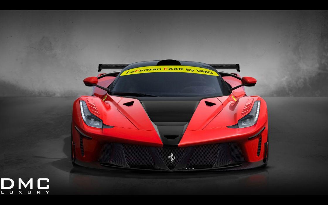2014 DMC Ferrari LaFerrari FXXR tuning supercar   g wallpaper