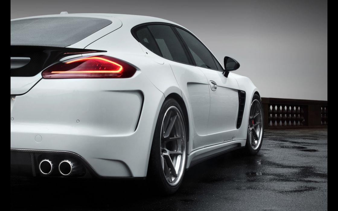 2014 TopCar Porsche Panamera Stingray GTR tuning wheel     h wallpaper
