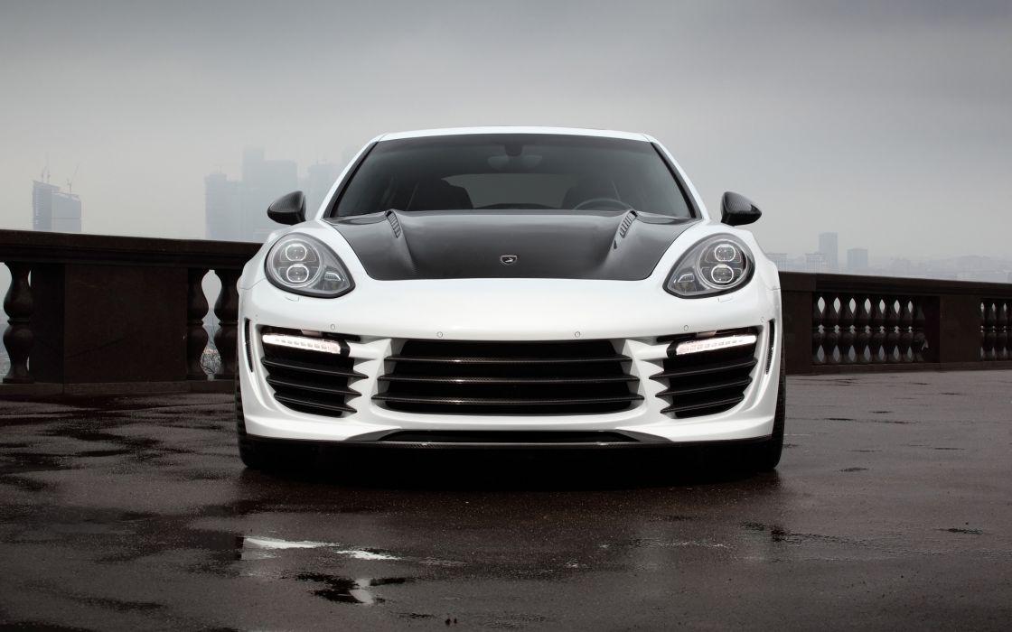 2014 TopCar Porsche Panamera Stingray GTR tuning  f wallpaper