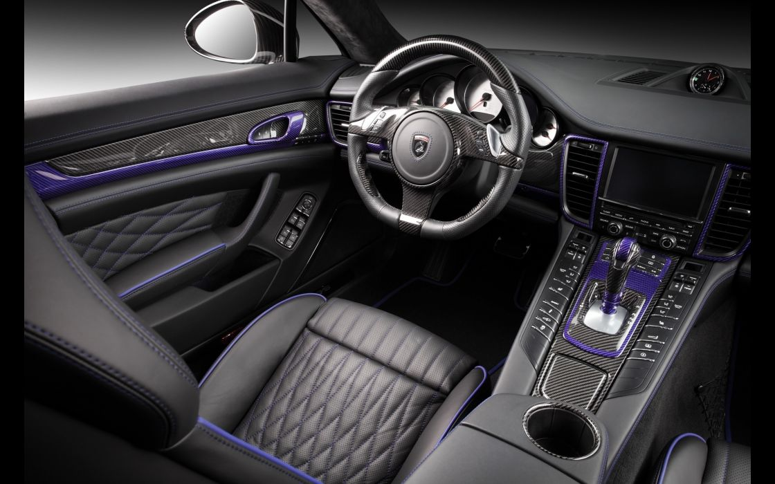 2014 TopCar Porsche Panamera Stingray GTR tuning interior      h wallpaper