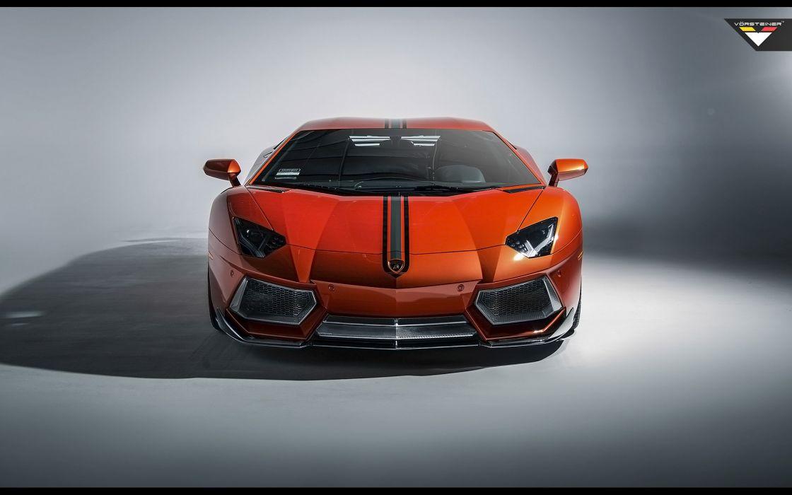 2014 Vorsteiner Lamborghini Aventador V LP-740 supercar   f wallpaper