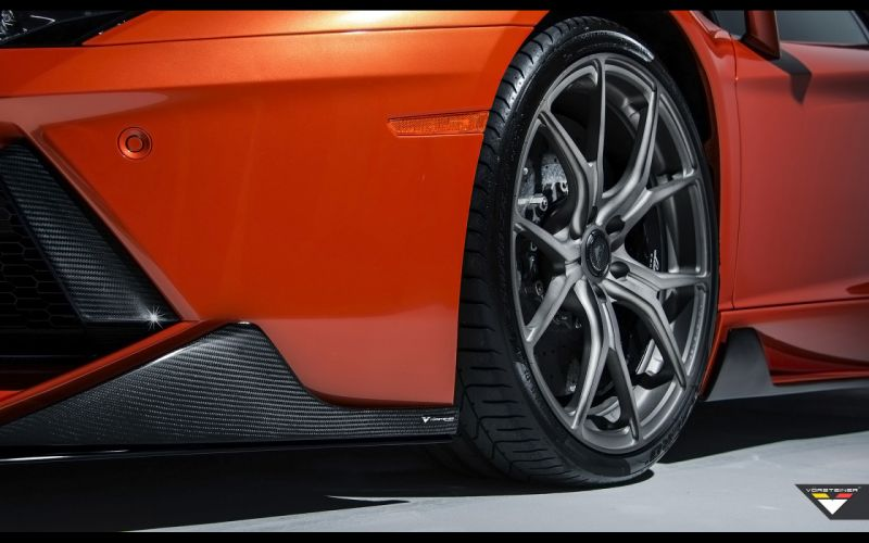 2014 Vorsteiner Lamborghini Aventador V LP-740 supercar wheel h wallpaper