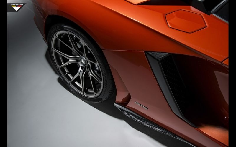 2014 Vorsteiner Lamborghini Aventador V LP-740 supercar wheel g wallpaper