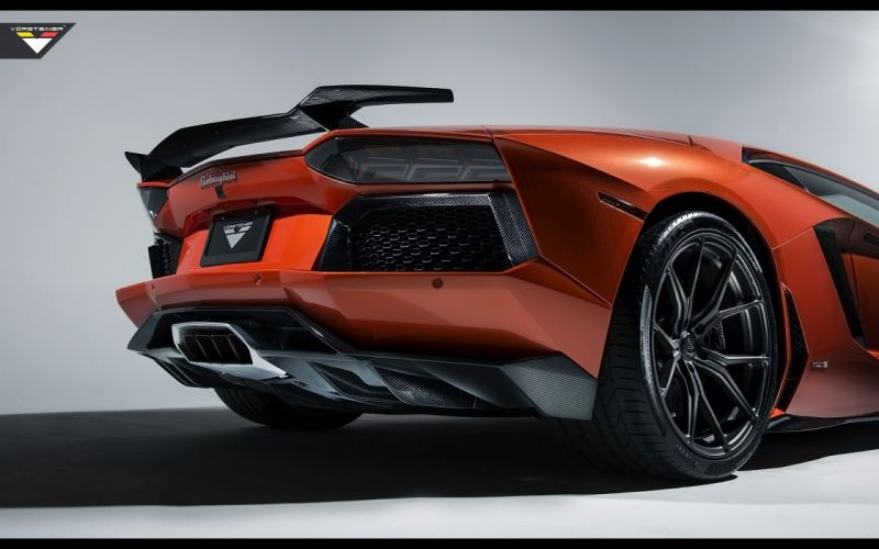 2014 Vorsteiner Lamborghini Aventador V LP-740 supercar wheel r wallpaper
