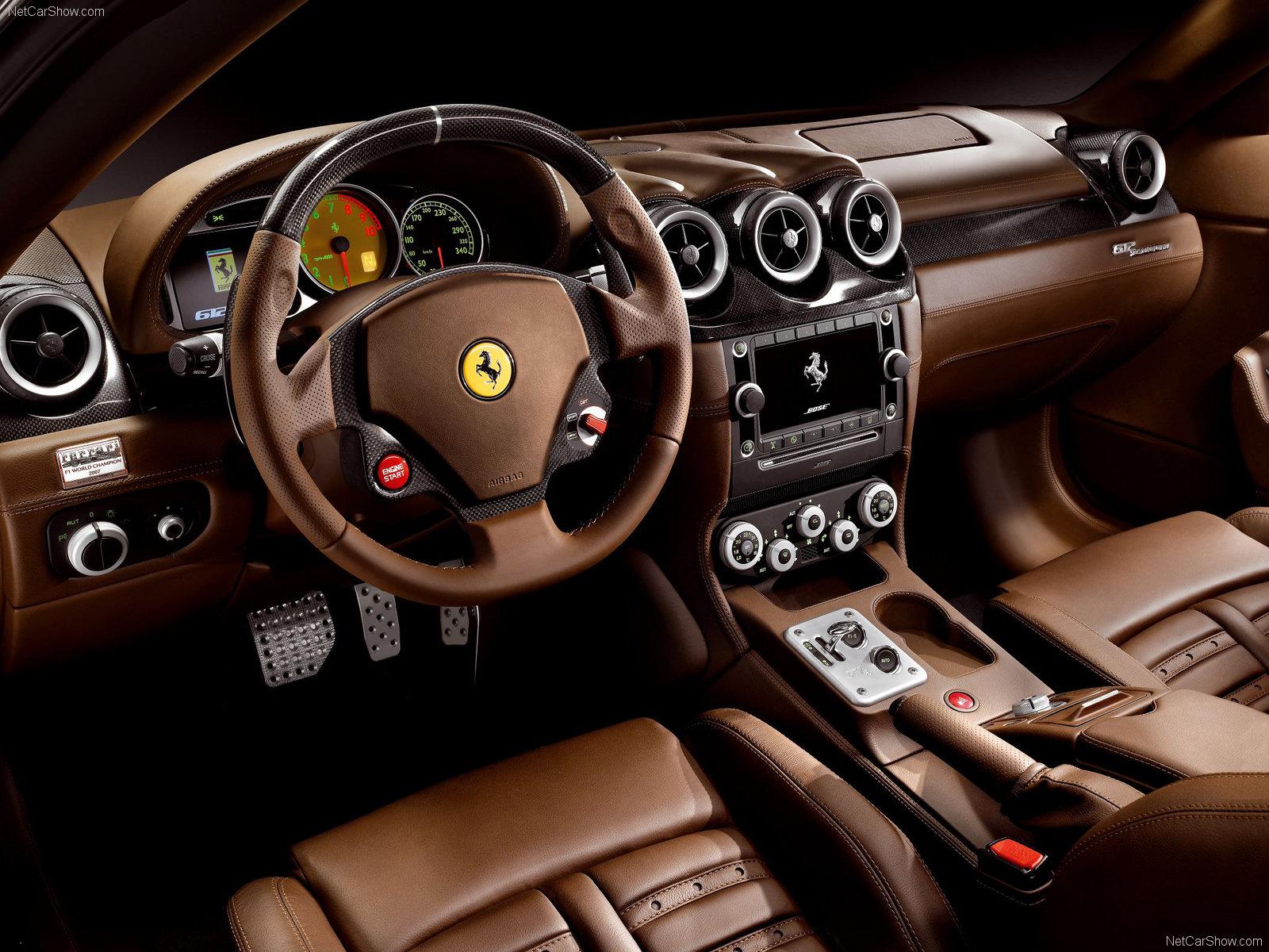 Ferrari Scaglietti Supercar Interior G Wallpaper