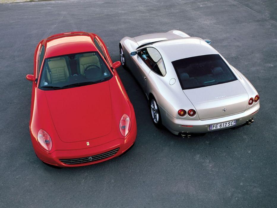 Ferrari 612 Scaglietti supercar f wallpaper