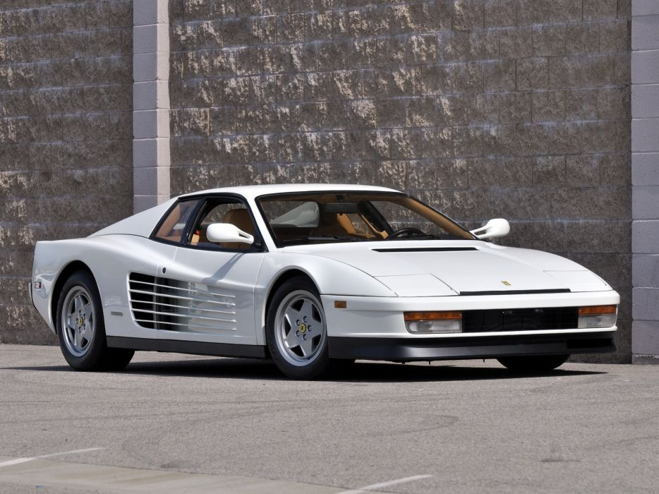 Ferrari Testarossa supercar     g wallpaper