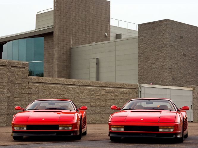 Ferrari Testarossa supercar gh wallpaper