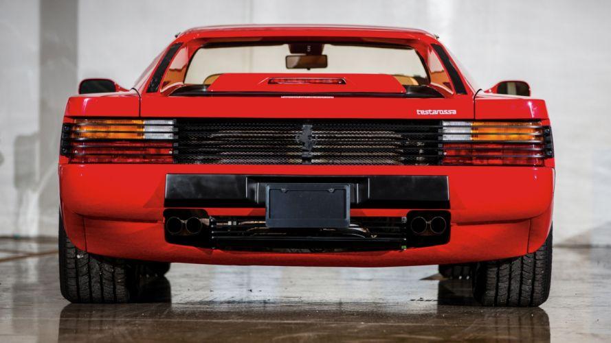 Ferrari Testarossa supercar rw wallpaper