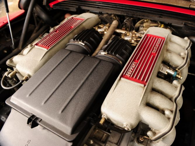 Ferrari Testarossa supercar engine h wallpaper