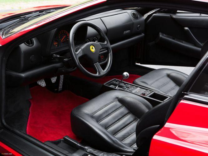 Ferrari Testarossa supercar interior fd wallpaper