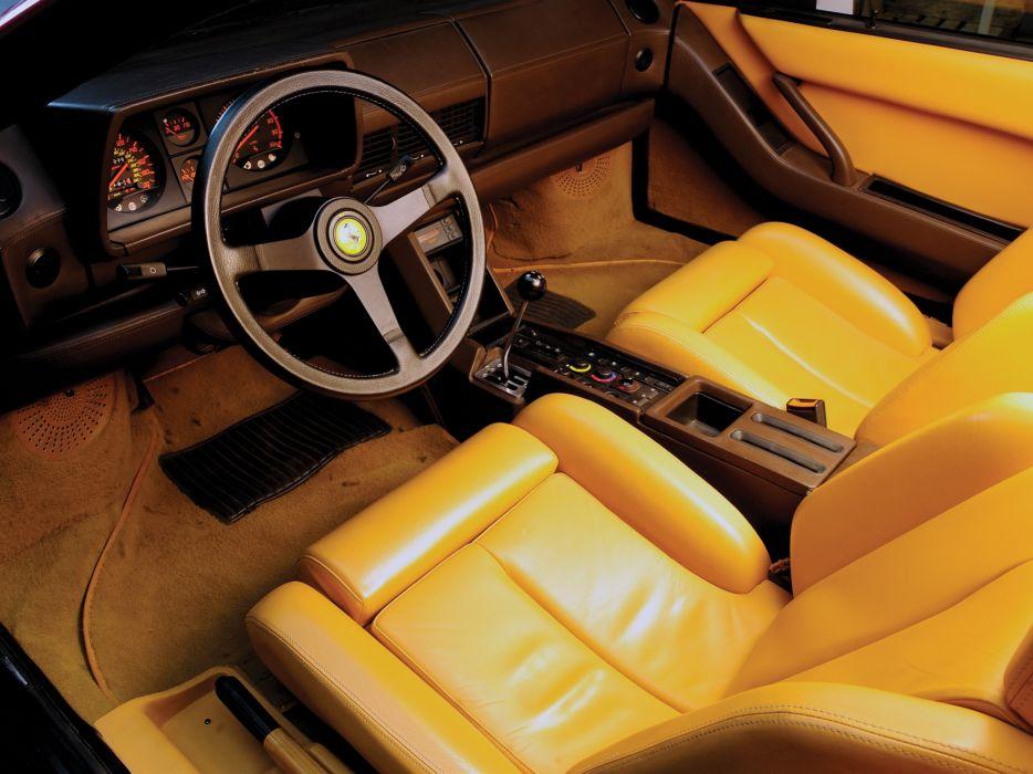 Ferrari Testarossa supercar interior   h wallpaper
