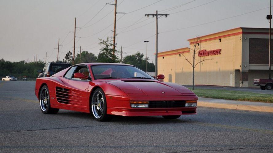 Ferrari Testarossa supercar r wallpaper
