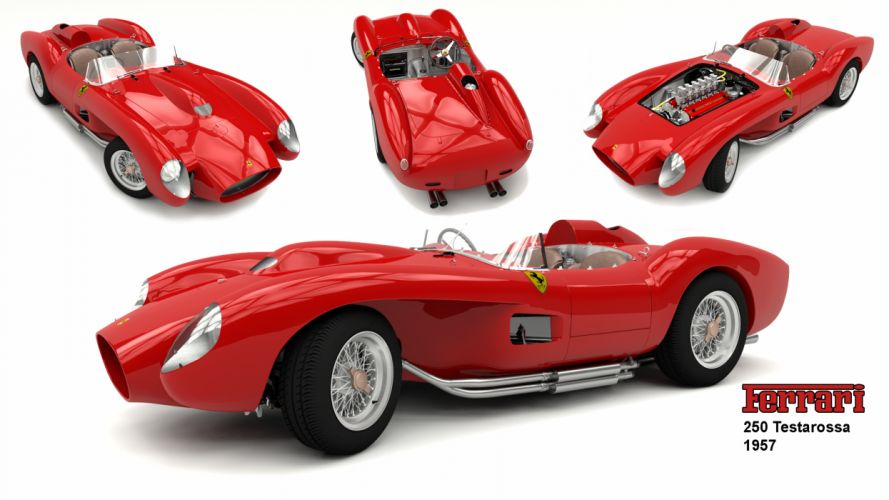 Ferrari Testarossa supercar fw wallpaper