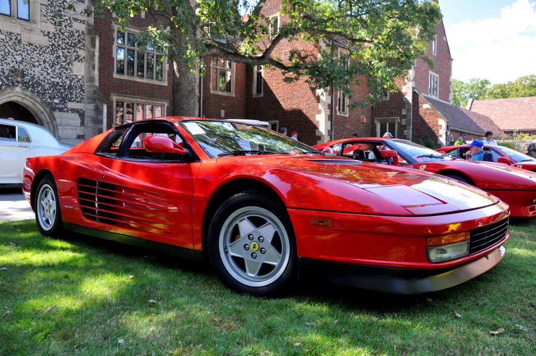 Ferrari Testarossa supercar   e wallpaper