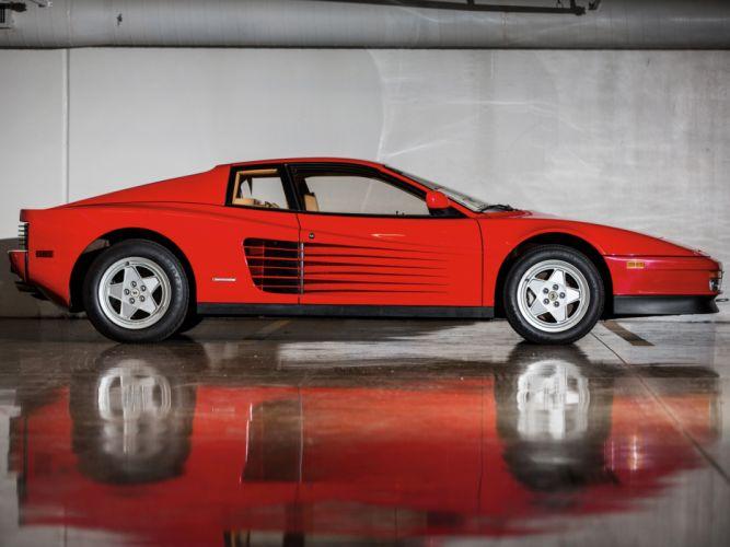 Ferrari Testarossa supercar fd wallpaper