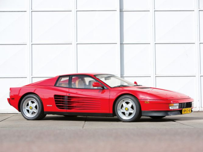 Ferrari Testarossa supercar h wallpaper