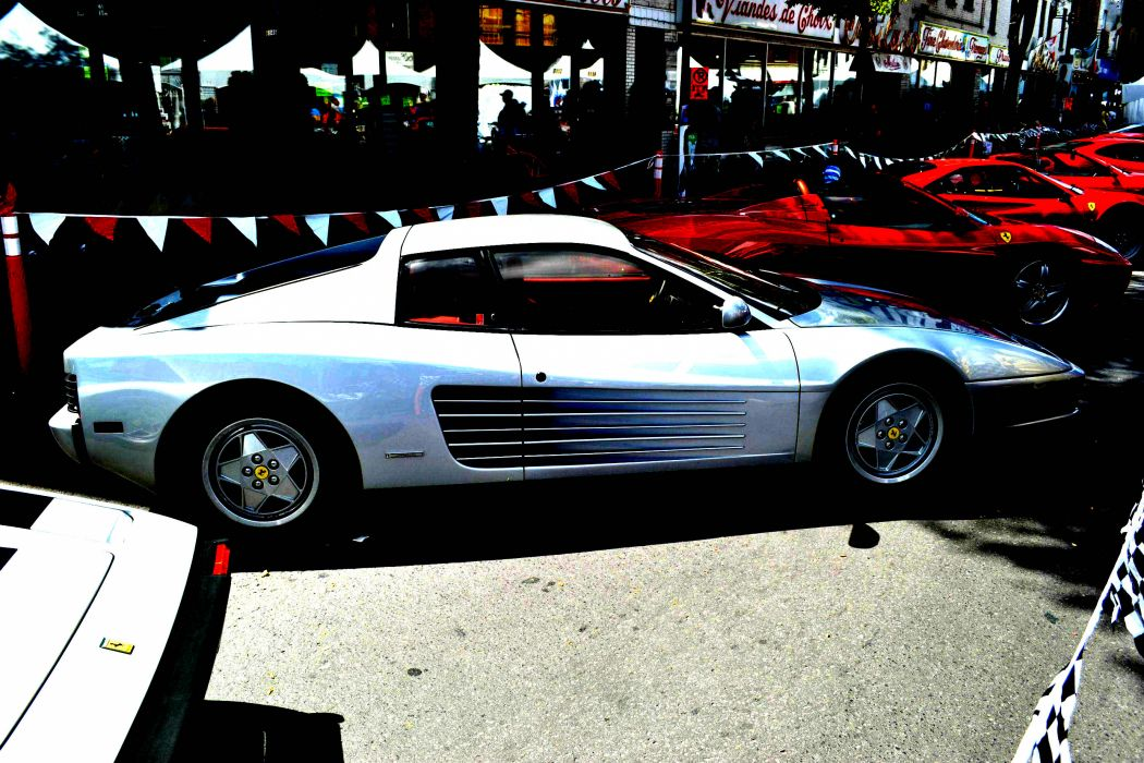 Ferrari Testarossa supercar   ro wallpaper