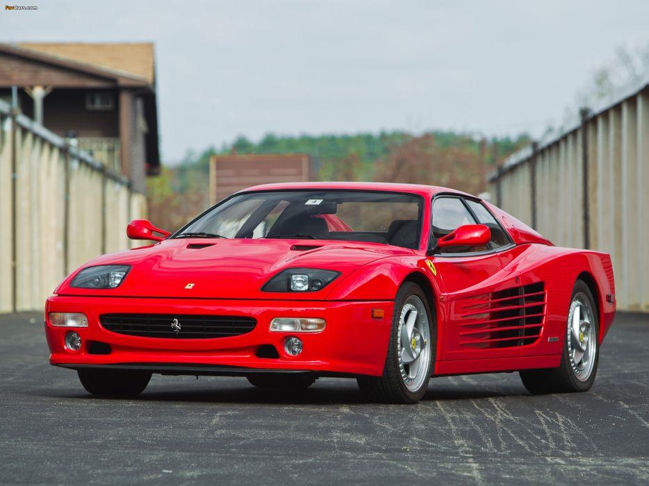 Ferrari Testarossa supercar  gt wallpaper