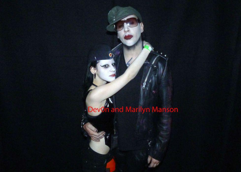 MARILYN MANSON industrial metal rock heavy shock gothic glam     fd wallpaper