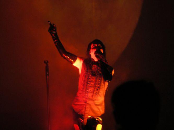 MARILYN MANSON industrial metal rock heavy shock gothic glam concert singer fe wallpaper
