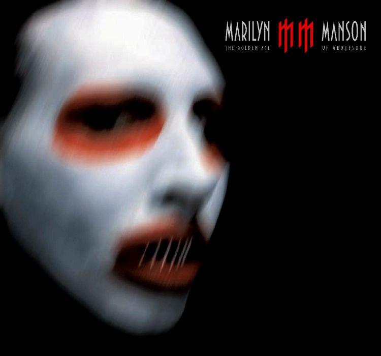 MARILYN MANSON industrial metal rock heavy shock gothic glam poster  gi wallpaper