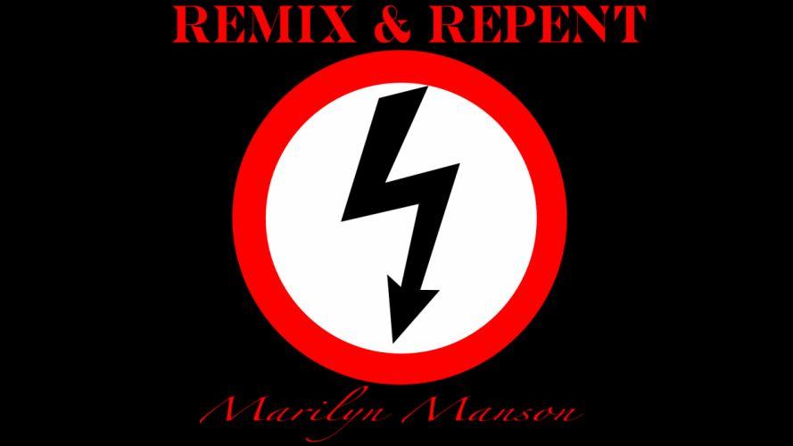 MARILYN MANSON industrial metal rock heavy shock gothic glam poster gr wallpaper