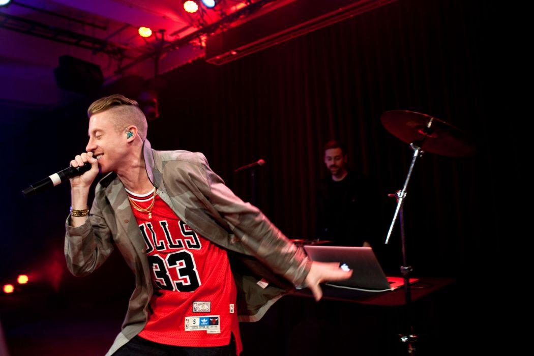 MACKLEMORE ryan lewis rap rapper hip hop concert microphone   dh wallpaper