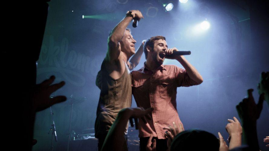 MACKLEMORE ryan lewis rap rapper hip hop concert microphone gq wallpaper