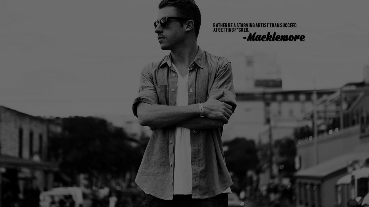 MACKLEMORE ryan lewis rap rapper hip hop sadic    f wallpaper