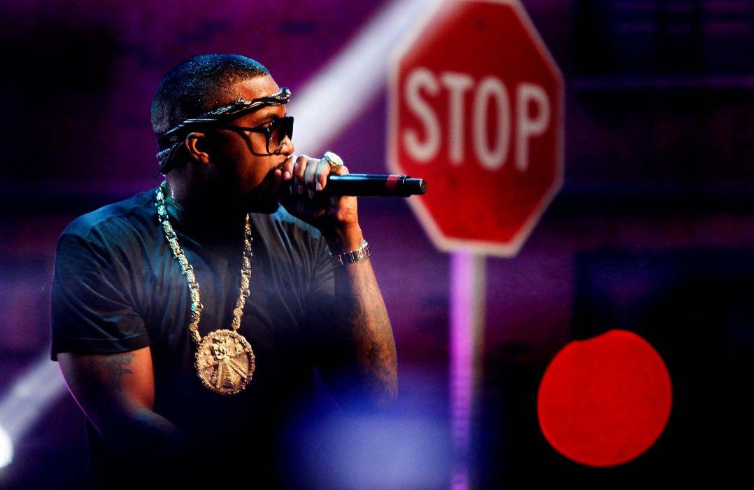 NAS rapper rap hip hop concert microphone  da wallpaper