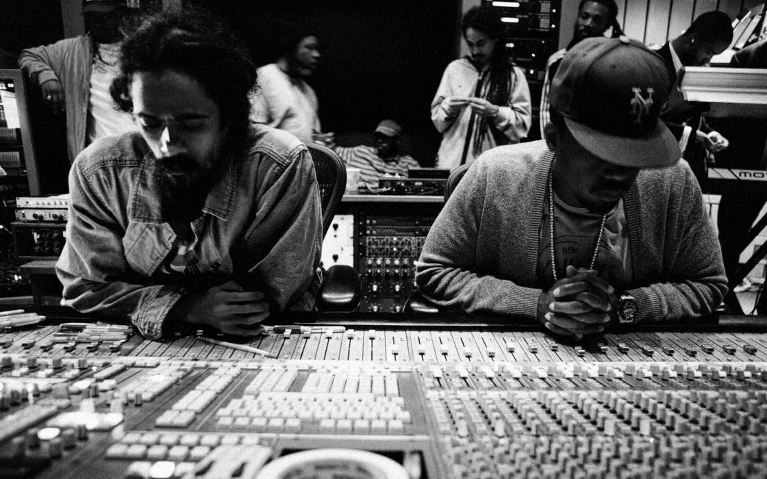 NAS Rapper Rap Hip Hop Damian Marley Studio F Wallpaper