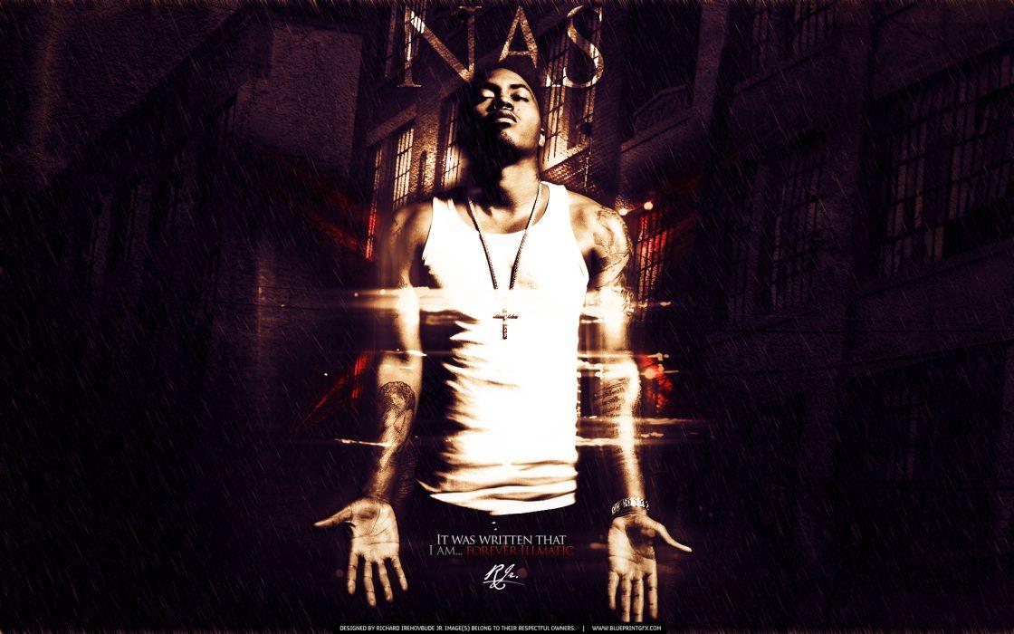 NAS rapper rap hip hop poster    g wallpaper