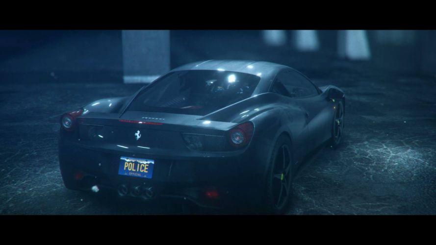 NFS: Rivals - Ferrari 458 Italia wallpaper