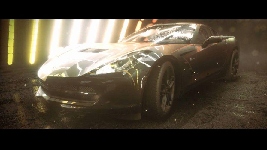 NFS: Rivals - Chevy Corvette Stingray wallpaper