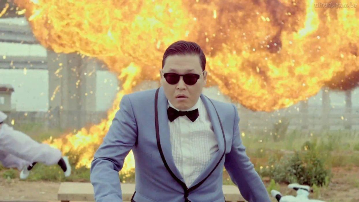 PSY gangnam style korean singer songwriter rapper dancer pop dance fire     f wallpaper