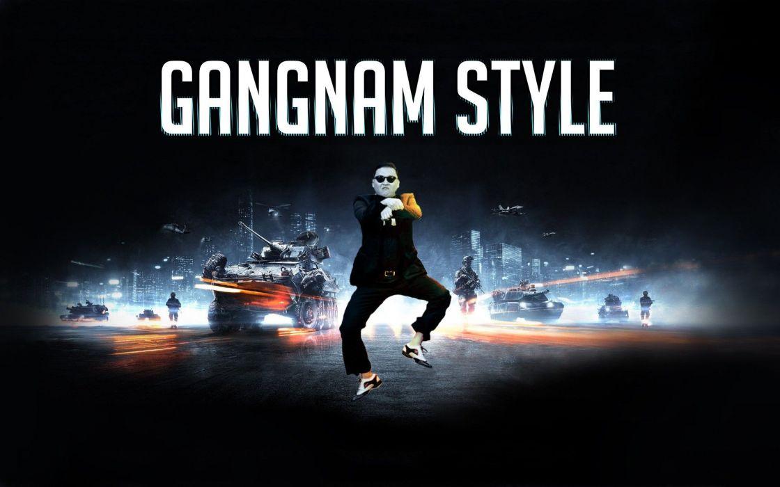 PSY gangnam style korean singer songwriter rapper dancer pop kpop games battlefield   g wallpaper