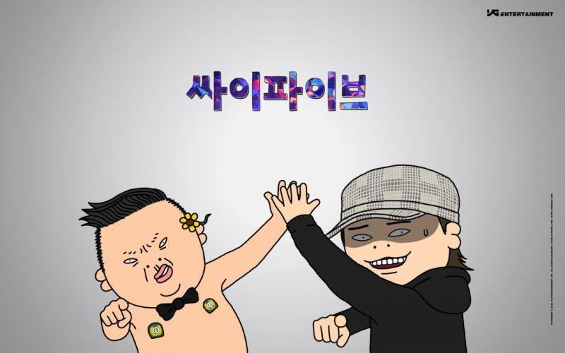 PSY gangnam style korean singer songwriter rapper dancer pop kpop poster tu wallpaper