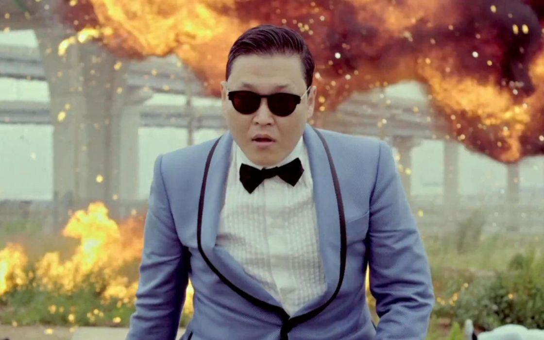 PSY gangnam style korean singer songwriter rapper dancer pop sunglasses glasses fire      d wallpaper