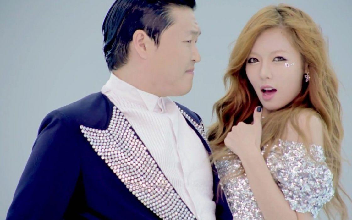 PSY Hyuna gangnam style korean singer songwriter rapper dancer pop kpop  t wallpaper