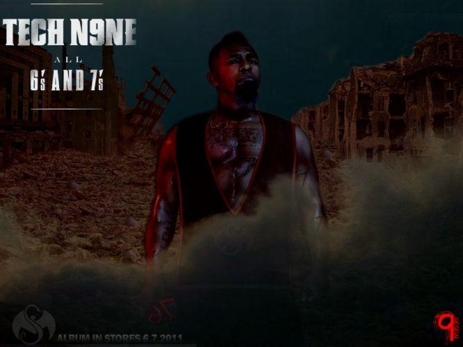 TECH N9NE gangsta rapper rap hip hop eq wallpaper