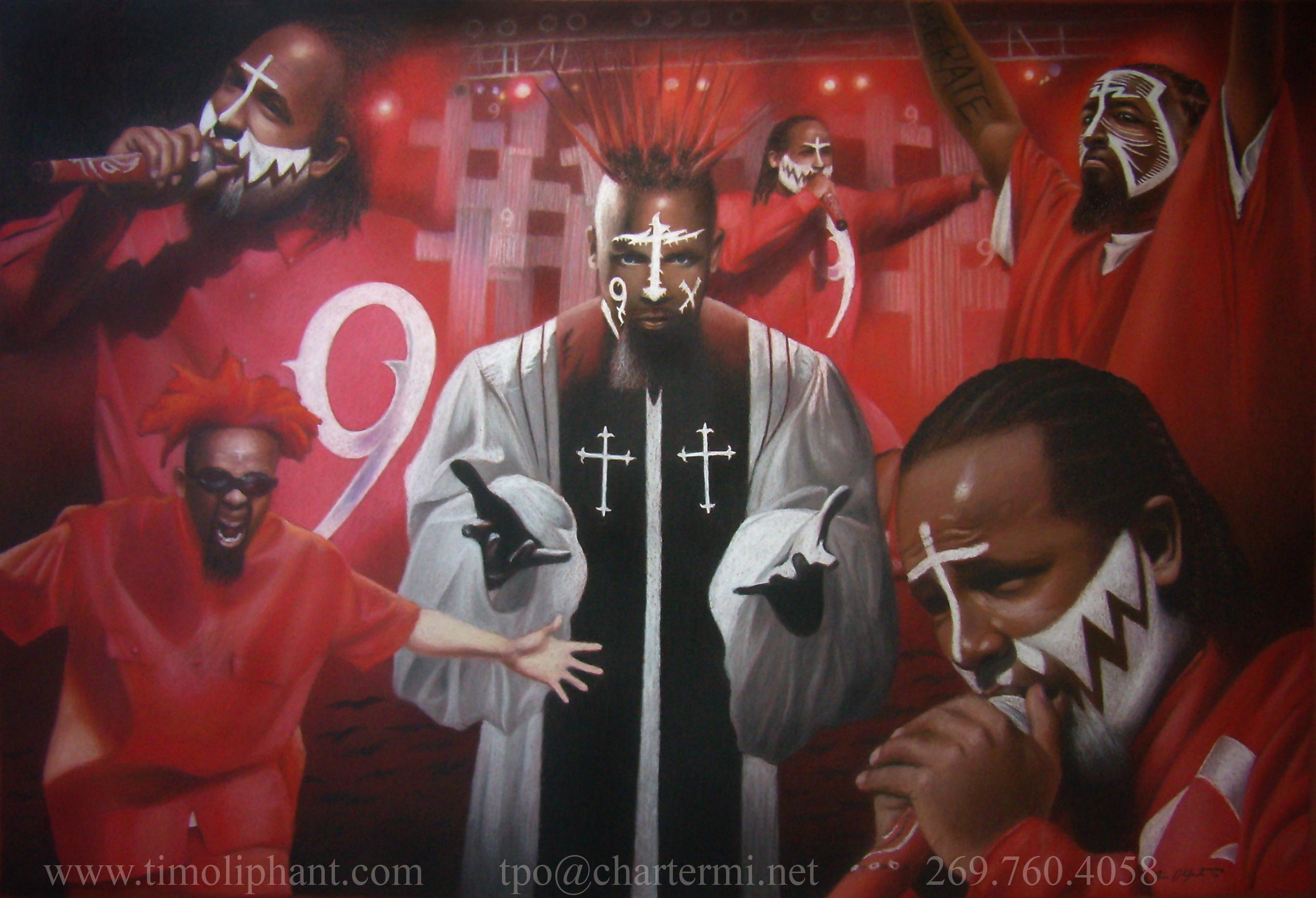 TECH N9NE Gangsta Rapper Rap Hip Hop R Wallpaper