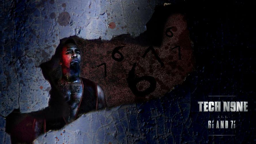 TECH N9NE gangsta rapper rap hip hop poster t wallpaper