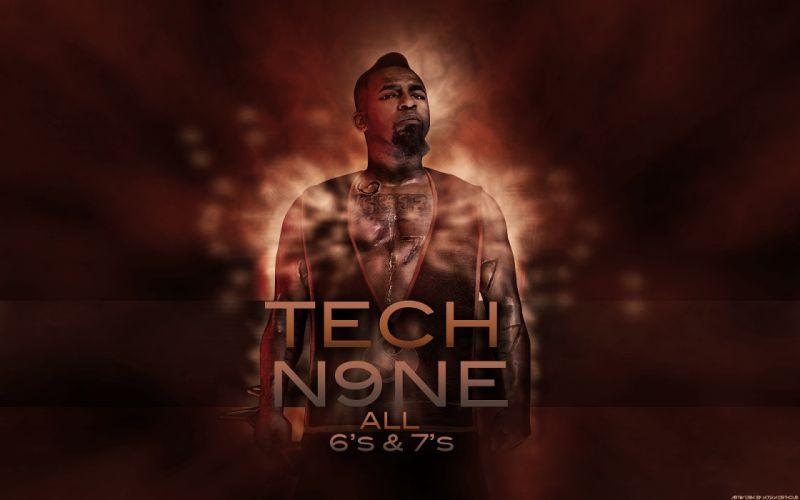 TECH N9NE gangsta rapper rap hip hop poster r wallpaper