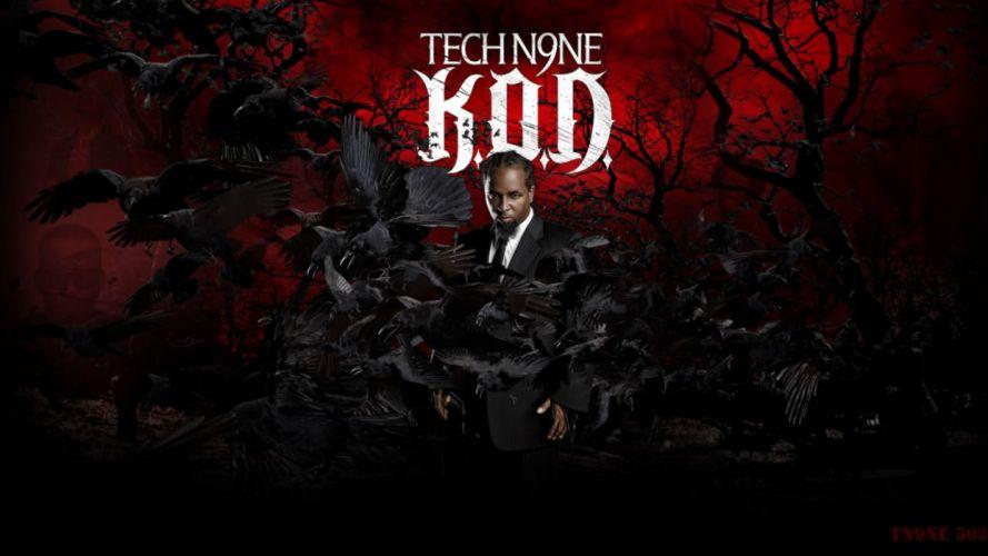 TECH N9NE gangsta rapper rap hip hop poster g wallpaper