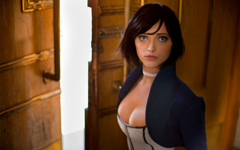 Bioshock Infinite - Elizabeth Cosplay wallpaper
