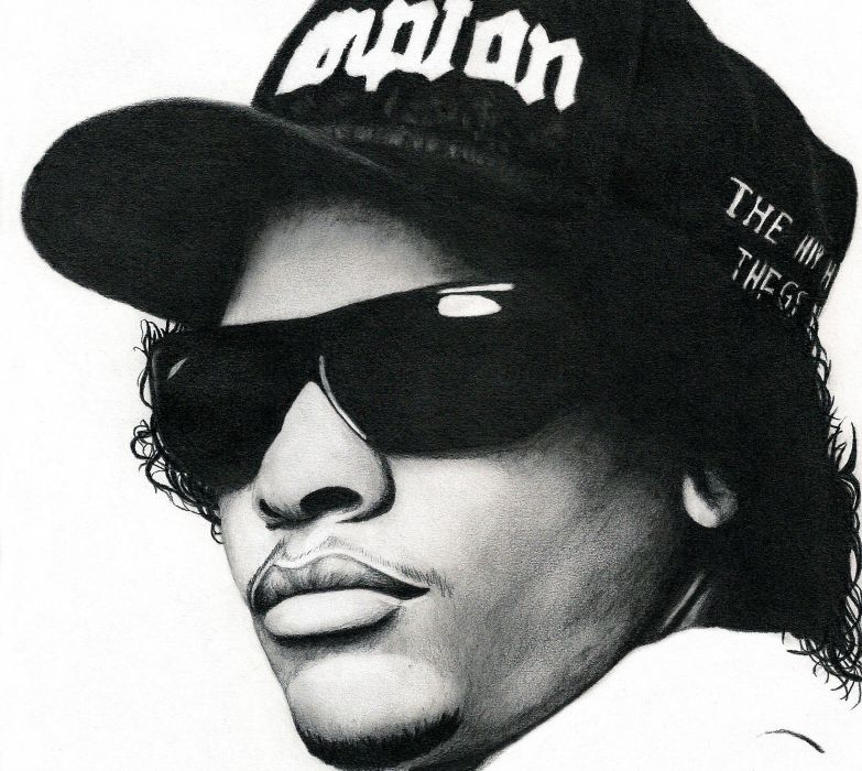 Eazy E Nwa Gangsta Rapper Rap Hip Hop Eazy E Sa Wallpaper