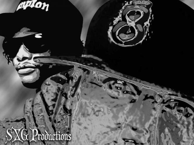 Eazy E nwa gangsta rapper rap hip hop eazy-e sc wallpaper