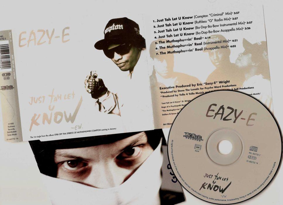 Eazy E nwa gangsta rapper rap hip hop eazy-e poster      d wallpaper