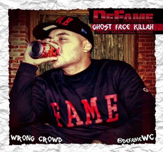GHOSTFACE KILLAH DEFAME gangsta rapper rap hip hop poster fe wallpaper